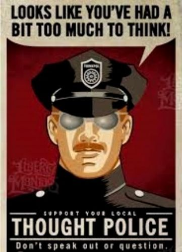 Click to view 1984 Thought Police