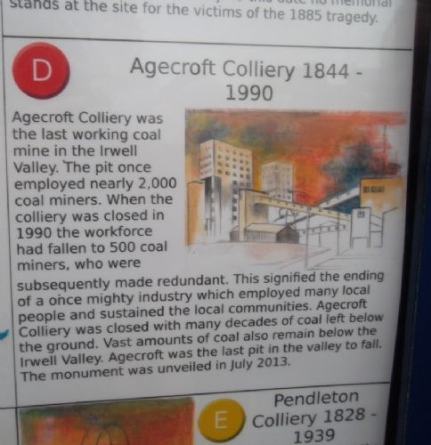 Click to view Irwell Valley Miners Info Board Salford
