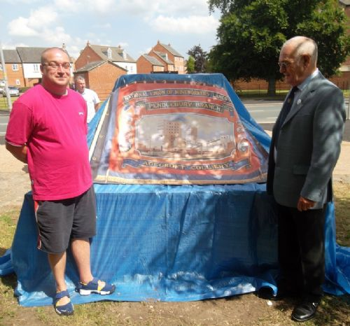 Click to view Agecroft Colliery Monument Unveiling