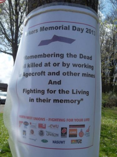 Click to view AGECROFT COLLIERY MEMORIAL DAY