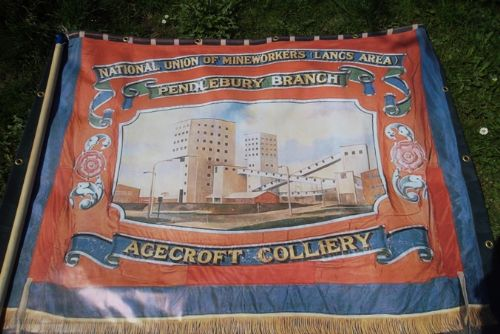 Click to view AGECROFT COLLIERY MEMORIAL
