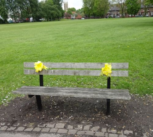 Click to view Alan Henning Memorial Garden Eccles