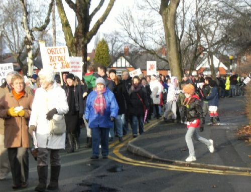 Click to view Peel Holdings Incinerator Protest Jan 2011