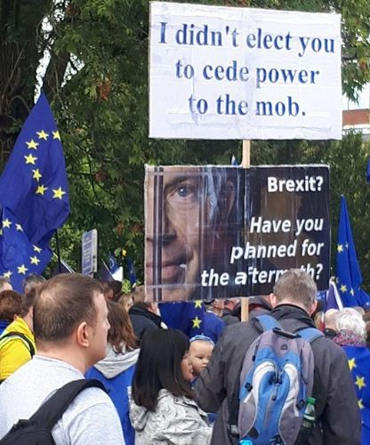 Click to view #StopBrexit march Manchester