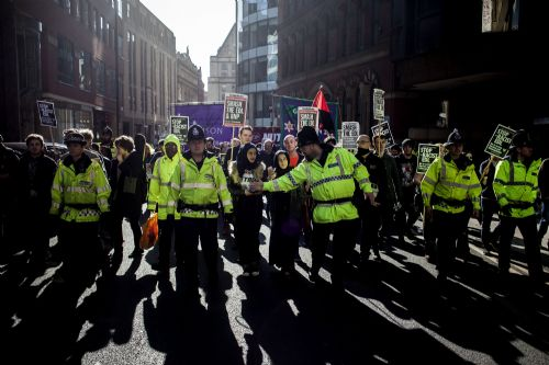 Click to view ANTI-EDL MARCH AND RALLY MANCHESTER