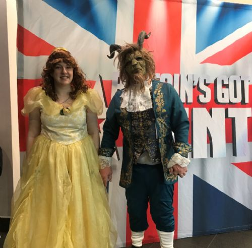 Click to view Britain's Got Talent Salford Beauty and the Beast
