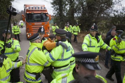 Click to view More Arrests At Barton Moss 17th March 2014