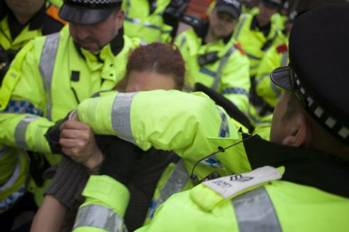 Click to view Vanda's Arrest by Greater Manchester Police at Barton Moss