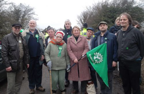 Click to view Green Party at Barton Moss