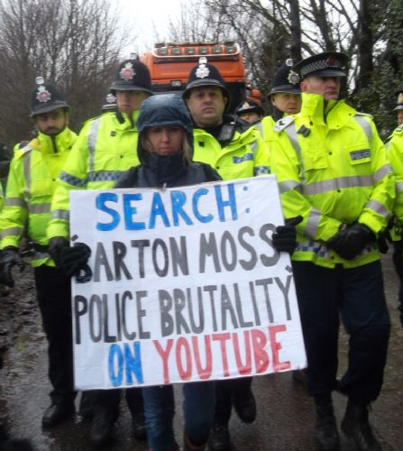 Click to view Barton Moss Policing