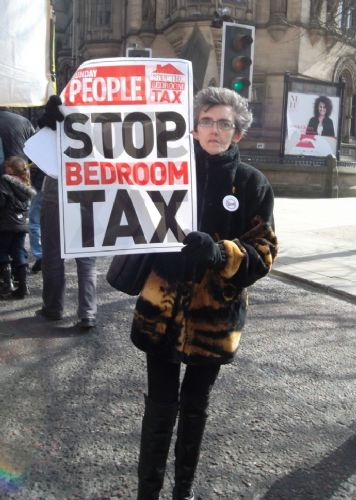 Click to view GREATER MANCHESTER PROTESTS AGAINST BEDROOM TAX