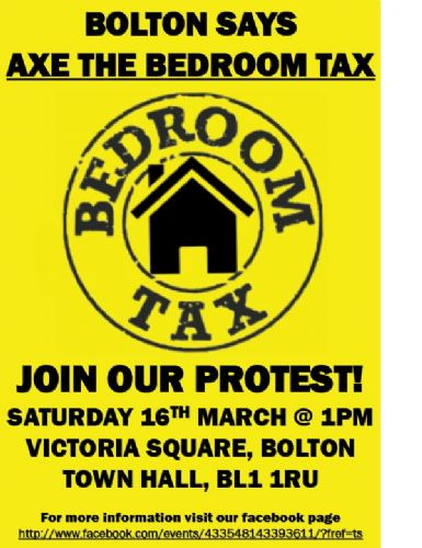 Click to view Bolton Bedroom Tax Protest