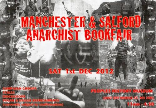 Click to view Manchester and Salford Anarchist Bookfair 2012