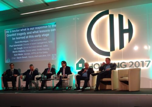 Click to view CIH Housing 2017 Grenfell Tower session