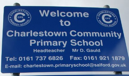 Click to view Charlestown Primary Sign