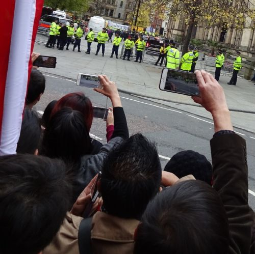 Click to view Chinese President and David Cameron visit Manchester Town Hall