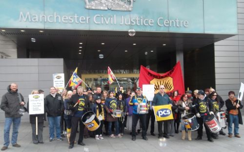 Click to view Civil Service Strike Manchester and Salford April 5th 2013