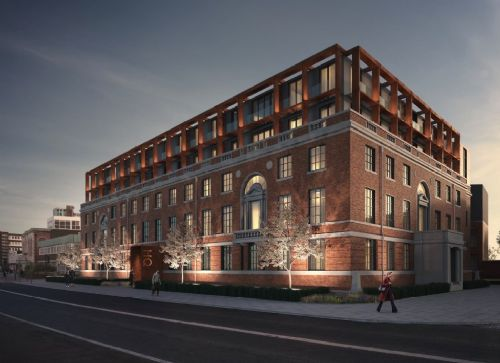 Click to view Salford Crescent Police Station Development