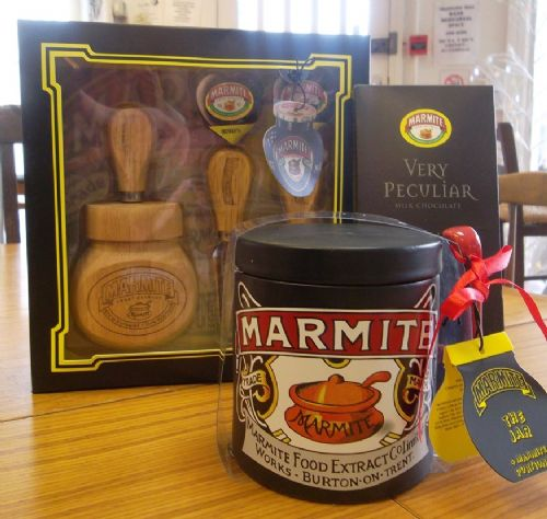 Click to view Salford Star Raffle Prize - Marmite Gift Set