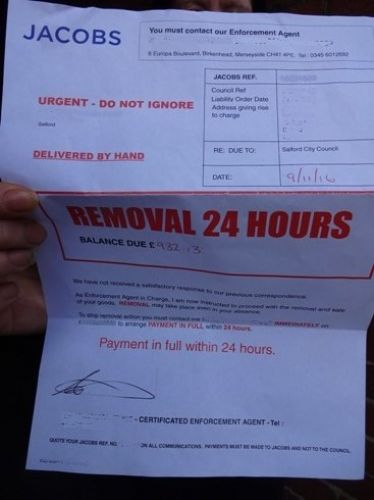 Click to view Jacobs Removal Notice