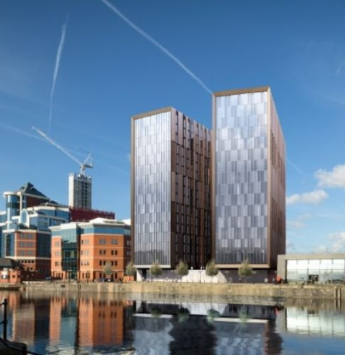 Click to view Erie Basin development Salford Quays