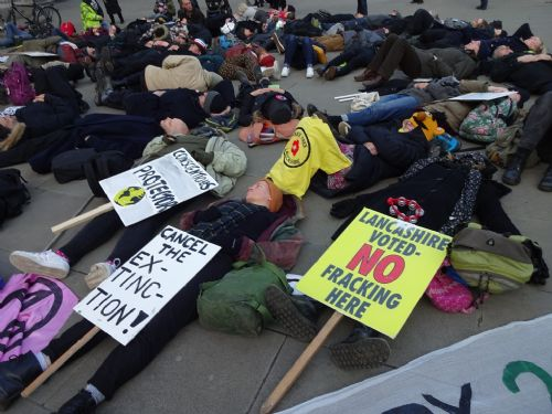 EXTINCTION REBELLION HITS MANCHESTER WITH CLIMATE CHANGE ...