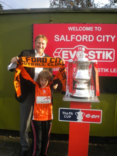 Click to view FA CUP COMES TO SALFORD