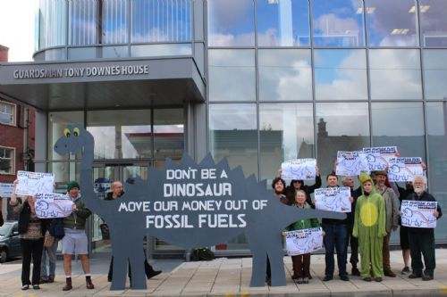 Click to view Greater Manchester Divestment Protest