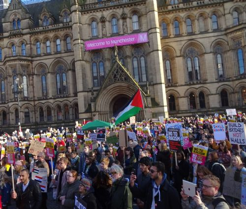 Click to view Greater Manchester Against Trump