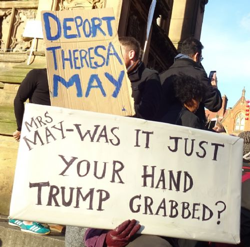 Click to view Donald Trump Protest