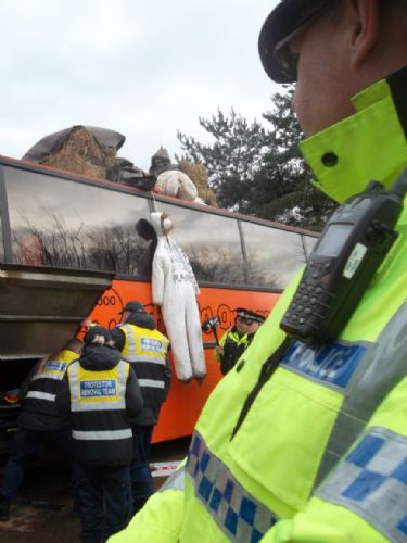 Click to view Greater Manchester Police Protestor Removal Team