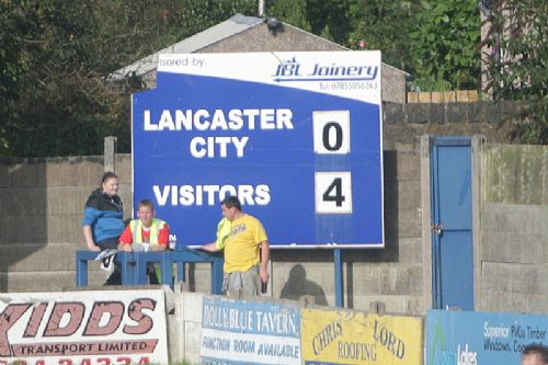 Click to view FA Cup Lancaster City 0 Salford City 4