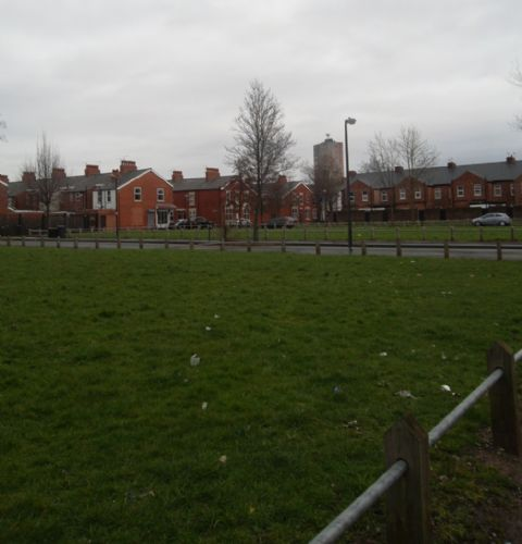 Salford City Programme Gainsborough: TEN YEARS AFTER LANGWORTHY COMMUNITY KICKED OUT, CROFTS TO