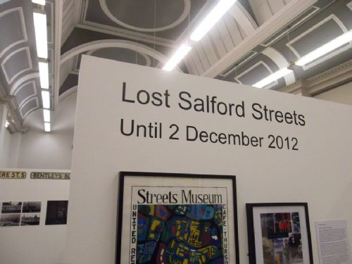 Click to view Lost Salford Streets Exhibition