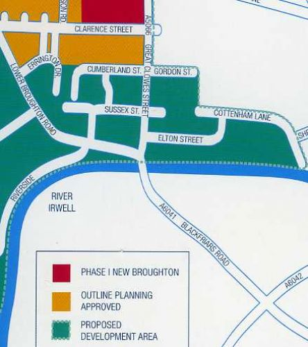 Click to view Lower Broughton Pre-Flood Redevelopment Plan