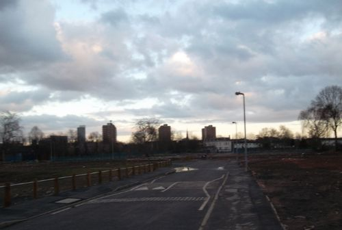 Click to view Sunset Over Lower Broughton, Salford