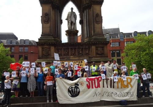 Click to view Backwards Walk Against Climate Change Manchester