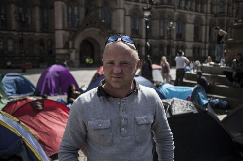 Click to view Manchester Homeless Camp