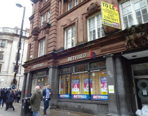 Click to view Manchester city centre BetFred squat