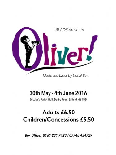 Click to view St Luke's Arts and Drama Society presents Oliver