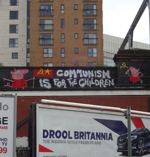 Click to view Peppa Pig and Communism in Salford
