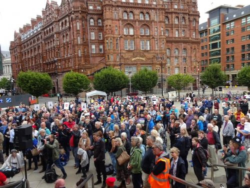 Click to view 199th Anniversary of Peterloo, Manchester 2018