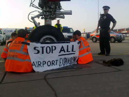 Click to view Manchester Airport Protest