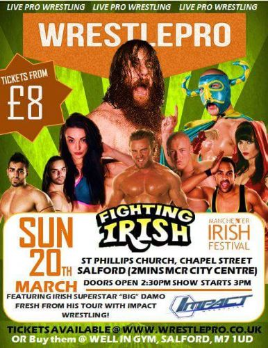 Click to view Wrestlepro The Fighting Irish