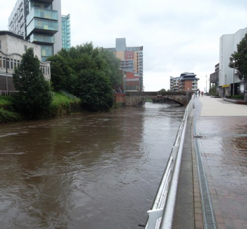 Click to view River Irwell Salford July 2012
