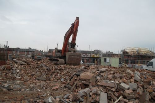 Click to view Demolition of Top Streets, Higher Broughton, Salford