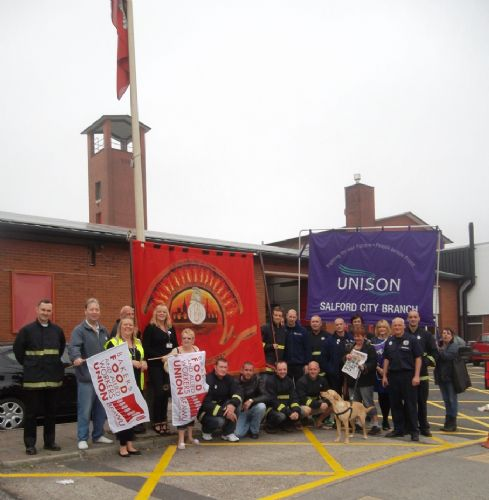 Click to view Salford Firefighters Strike