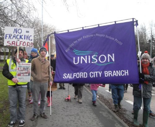 Click to view Salford Anti Fracking Solidarity Day