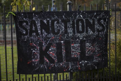 Click to view Salford Benefit Sanctions Protest