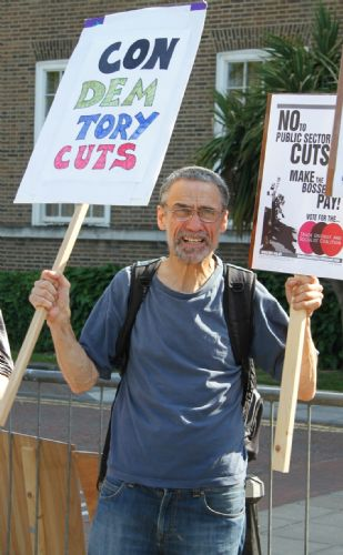 Click to view Salford Budget Protest